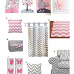 Nursery Design Series: Chevron Pink & Gray