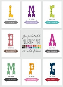Ontobaby Nursery Art