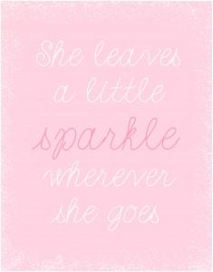 Sparkle Nursery Art Printable